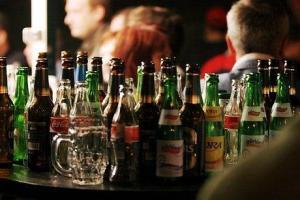 alcohol pile